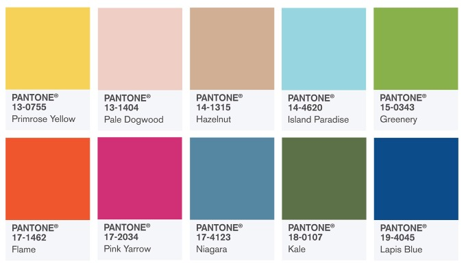 PantoneSpring2017