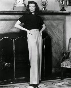 1-Katherine Hepburn