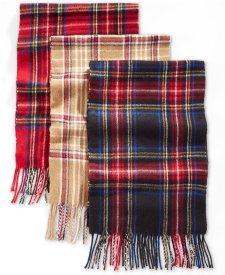 plaidscarf